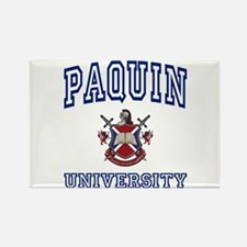 PAQUIN University Rectangle Magnet