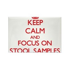 Keep Calm and focus on Stool Samples Magnets