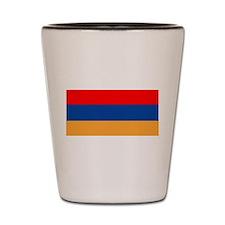 Cute Armenia flag Shot Glass