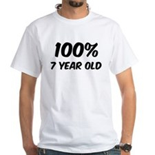 100 Percent 7 Year Old Shirt
