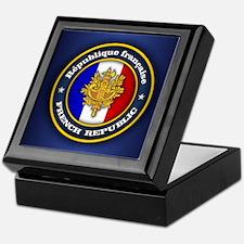 French Emblem Keepsake Box