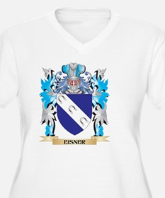 Eisner Coat of Arms - Family Crest Plus Size T-Shi