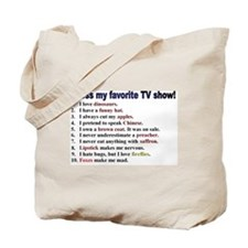 """Guess my TV show"" Firefly Tote Bag"