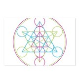 Sacred geometry Postcards