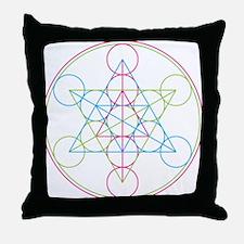 Cute Sacred geometry Throw Pillow
