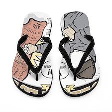GeekFest Rocky Flip Flops