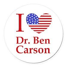 Cool Ben carson Round Car Magnet