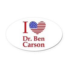 Unique Ben carson Oval Car Magnet