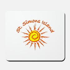 St. Simons Island, Georgia Mousepad