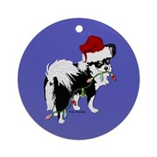 Chihuahua LC Lights Ornament (Round)