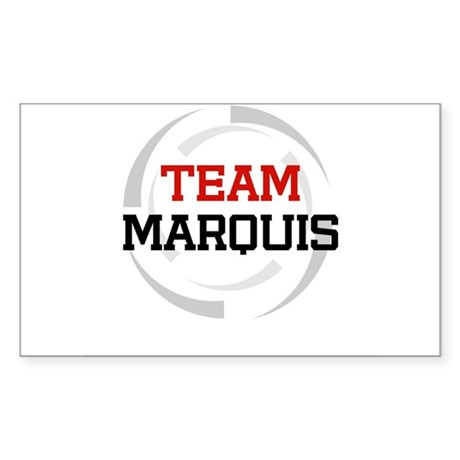 Marquis Rectangle Sticker