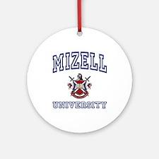 MIZELL University Ornament (Round)