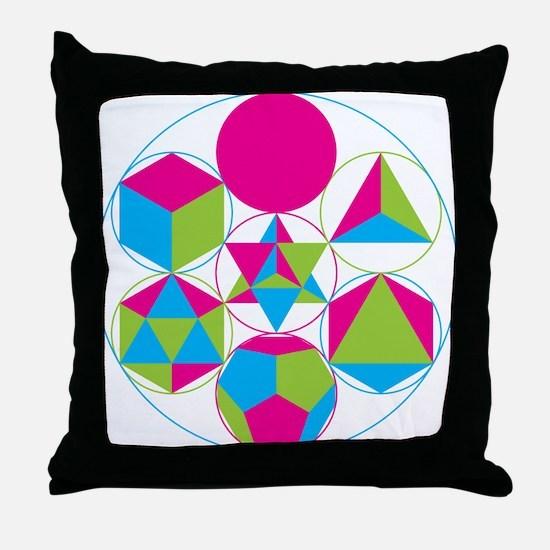 Cool Geometry Throw Pillow