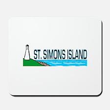 St. Simons Island Mousepad