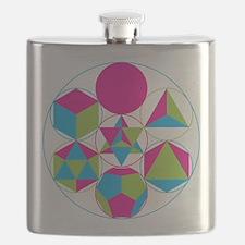 Cute Geometry Flask
