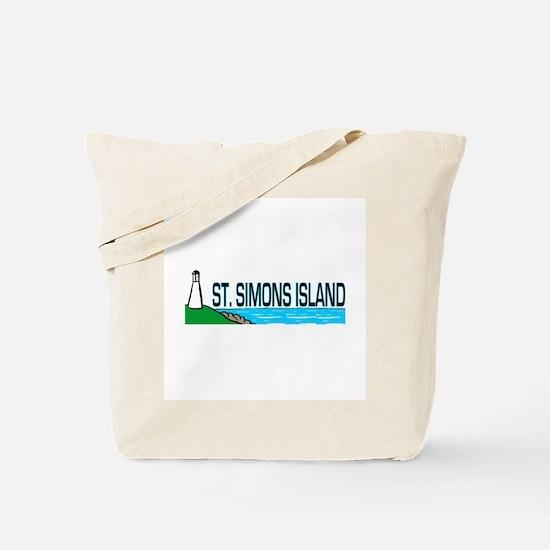 St. Simons Island Tote Bag