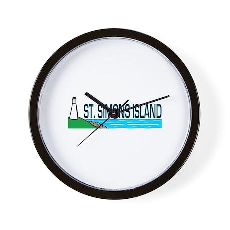 St. Simons Island Wall Clock