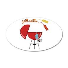 Grill Skills Wall Decal