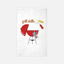 Grill Skills 3'x5' Area Rug