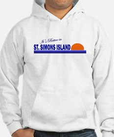 Its Better in St. Simons Isla Hoodie