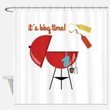 BBQ Time Shower Curtain