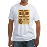 The Head of Joaquin Fitted T-Shirt