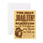 The Head of Joaquin Greeting Cards (Pk of 10)