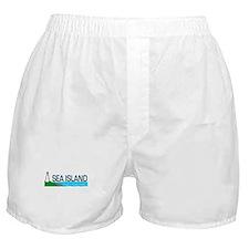 Sea Island, Georgia Boxer Shorts