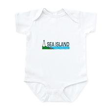 Sea Island, Georgia Infant Bodysuit