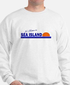 Its Better in Sea Island, Geo Sweatshirt