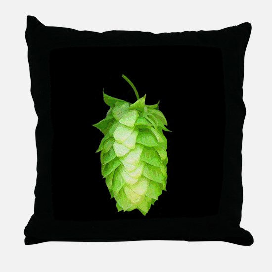 Unique Brewing beer Throw Pillow