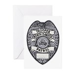 North Dakota Highway Patrol Greeting Cards (Packag