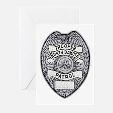 North Dakota Highway Patrol Greeting Cards (Packag