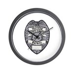 North Dakota Highway Patrol Wall Clock