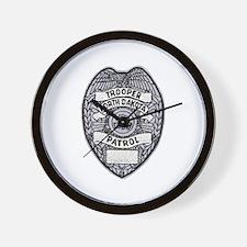 North Dakota Highway Patrol Wall Clock