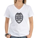 North Dakota Highway Patrol Women's V-Neck T-Shirt