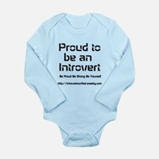 Proud to be an Introvert Body Suit