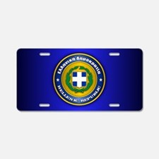 Greek Medallion Aluminum License Plate