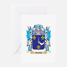 Elias Coat of Arms - Family Crest Greeting Cards