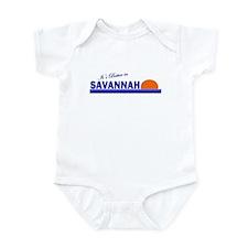 Its Better in Savannah, Georg Infant Bodysuit