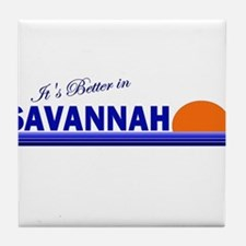 Its Better in Savannah, Georg Tile Coaster