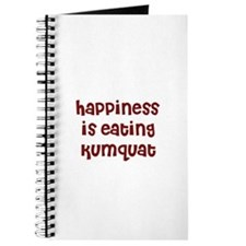 happiness is eating kumquat Journal