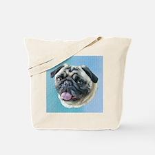 Unique Cute pug Tote Bag