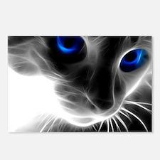 Cute Cat eye Postcards (Package of 8)