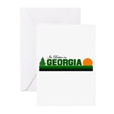 Its Better in Georgia Greeting Cards (Pk of 10