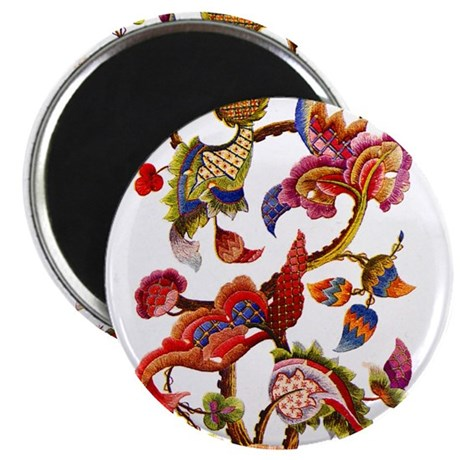 """Jacobean Embroidery 2.25"""" Magnet (10 pack)"""