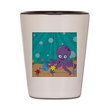 Octopus's Garden Shot Glass