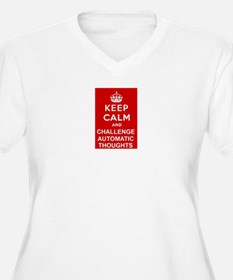 Keep Calm CBT Plus Size T-Shirt