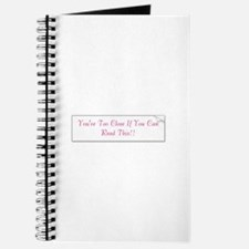Funny God can Journal