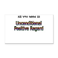 Cute Therapist Rectangle Car Magnet